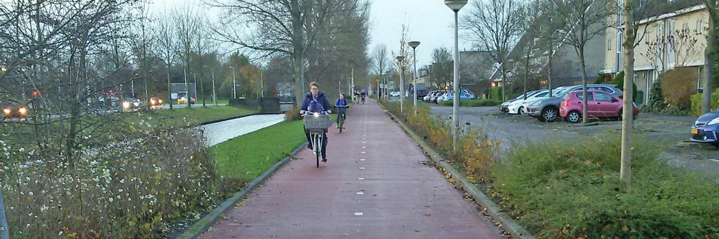 Stedelijke fietspaden Header