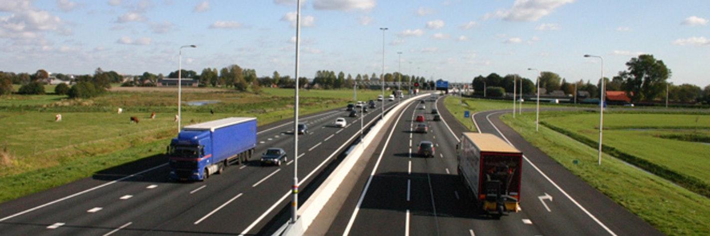 A12 met betonnen voertuigkering 660x440